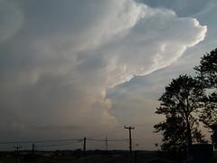 Supercelula   Supercell (IgorCamacho) Tags: sunset hot weather clouds nubes nuvens thunderstorm cb tempo anoitecer anvil calor severe cumulonimbus mammatus severo supercell supercelula