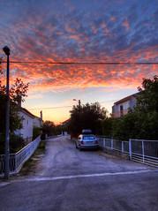 My street (Untalented_Amateur) Tags: street sunset croatia hdr hrvatska zalazak ulica vikendica pirovac
