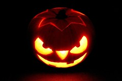 Scary Pumpkin (DaveJC90) Tags: city light orange detail eye halloween face yellow tooth mouth that pumpkin nose 1 scary october focus remember candle bright magic teeth year evil sharp level crop nights moment 1001nights month 31st 2012 1001 croped sharpness magiccity thegalaxy 1001nightsmagiccity mygearandme mygearandmepremium mygearandmebronze rememberthatmomentlevel1