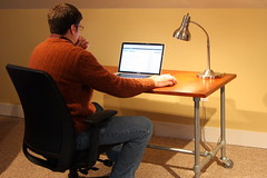 DIY Rolling Desk (Simplified Building Concepts) Tags: desk casters rollingdesk