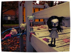 Blythe Physical Challenge - BPC #66 - Zombies, Witches and Werewolves, oh my!