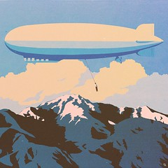 lgf (woodcum) Tags: cloud mountains zeppelin hangedman digitalillustration corvax