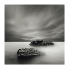 (zaneone) Tags: uk longexposure england blackandwhite dorset kimmeridge
