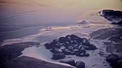 Frozen sea IV (Go.70North) Tags: winter sea ice finland frozen twilight arctic