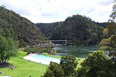 Cataract Gorge basin (nisudapi) Tags: footbridge reserve basin tasmania gorge launceston cataract 2012 firstbasin