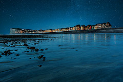 Starry night ( David.Keochkerian ) Tags: sea seascape france les bains mers