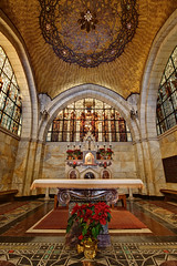 Church of the Flagellation (Xenedis) Tags: church architecture israel jerusalem middleeast altar nave viadolorosa holyland oldcity stateofisrael secondstationofthecross yerushalyim oldcityofjerusalem churchoftheflagellation
