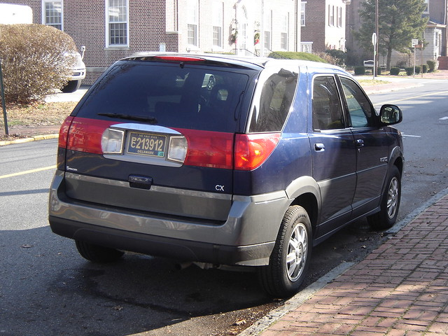 usa newcastle buick delaware rendezvous 2007