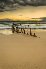 S.S Dicky Wreck (Aaron Bishop Photography) Tags: sand ship shipwreck wreck caloundra ssdicky