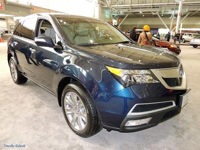 auto show new blue england boston expo acura mdx 2013