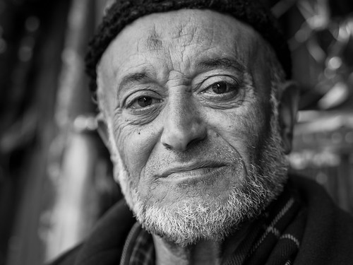 Portrait of a stranger, Jerusalem - Old City - Armenian Quarter