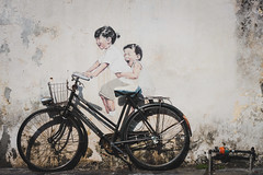 IMG_0251 (Balthear) Tags: old ferry painting island town lifestyle clocktower backpacking malaysia penang ernest streetsphotography zacharevic