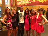 "The Saturdays Posted a photo on Twitter with the caption ""We gon party like it's our birthday! @50cent #SatsOnToday"""