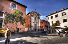 """Piazza di Sant'Egidio, Trastevere • <a style=""""font-size:0.8em;"""" href=""""http://www.flickr.com/photos/89679026@N00/8437885410/"""" target=""""_blank"""">View on Flickr</a>"""