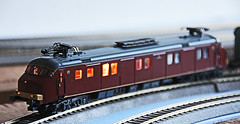 NS MotorPost (Rinus H0) Tags: scale layout miniature ns mp 187 gauge modelleisenbahn ptt modelrailway modelspoor miniatuur pttpost h0 mrklin modeltreinen motorpost 33891 dewerelden modelspoorbouw bruinemotorpost