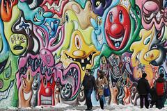 BOWERY MURAL - STREET ART SERIES (MY PINK SOAPBOX) Tags: streetart graffiti grafiti graf spraypaint artecallejero grafito canart sprei anahidecanio