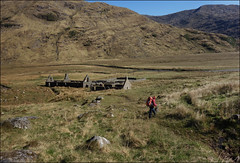 Carnoch ruins, marshes beyond (5/16 an017) (Ted and Jen) Tags: knoydart tgoc scotland greatoutdoorchallenge
