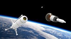 Exploder 1 Launch Success (John Moffatt) Tags: rocket launch stage space exploder 1 satellite