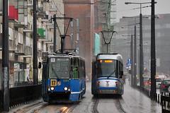 Konstal 105Na #2372+2371 MPK Wrocaw (3x105Na) Tags: konstal 105na 23722371 mpk wrocaw mpkwrocaw polska poland polen tram tramwaj strassenbahn