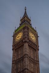 Big Ben at night... (Hans Kool) Tags: engeland brittain london uk england bigben big ben parliament clock time tourism tourisme thames united kingdom