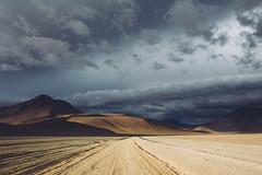 Sur Lipez near chilean border (dataichi) Tags: altiplano bolivia destination dirtroad landscape mountains nature outdoors tourism track travel contrast road clouds cloudy light
