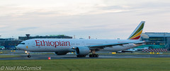 ET-ASK Ethiopian Airlines Boeing 777-360(ER) (Niall McCormick) Tags: dublin airport eidw aircraft airliner etask ethiopian airlines boeing 777360er