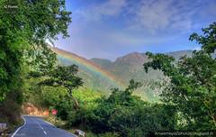 Rainbow (Anwer Reyaz) Tags: rainbow masinagudi kallatti ooty road