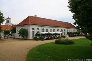 Europa, Deutschland, Brandenburg, Landkreis Märkisch-Oderland, Neuhardenberg, Schloss Neuhardenberg, Orangerie