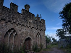 Gwrych Castle (deadmanjones) Tags: gwrych gwrychcastle ruin dangerkeepout melted