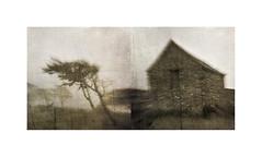 East of Dreemlang ii (mark kinrade) Tags: diptych mist manx upland nostalgia markkinrade isleofman