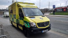 Ambulance (indiaechoemergencyvehicles) Tags: london ambulance service york way emergency 999 road