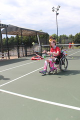 emma tennis 2 (varietystl) Tags: tracheostomy wheelchair wheelchairtennis tennis afos legbraces afobraces