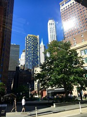 Summer - NYC (verplanck) Tags: summer sunshine financialdistrict tallbuildings architecture lowermanhattan