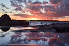 106 (anna.paavola) Tags: sunset lauttasaari helsinki finland reflection