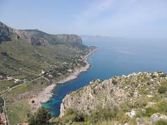 Bagheria, vista da Capo Zafferano su Capo Mongerbino e sul Golfo di Palermo (Giovanni Valentino) Tags: sicilia sicily bagheria aspra capozafferano mongerbino golfodipalermo