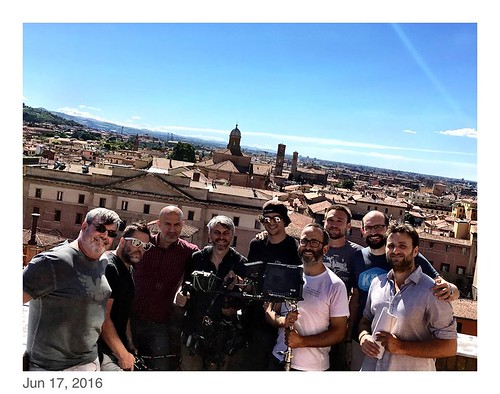 Camera Crew up Top