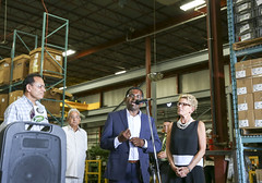 IMG_1183  Premier Kathleen Wynne toured RAM Plastics in Scarborough. (Ontario Liberal Caucus) Tags: scarborough industry thiru smallbusiness business