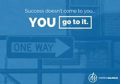 Attachment (Darren Salkeld) Tags: riseandgrind motivation quote quoteoftheday entrepreneur millionaire mentor workhard boss succeed inspiration qotd business advice tips mogul wisdom oneway darrensalkeld
