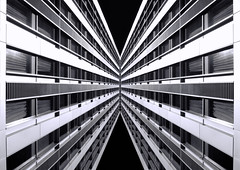 London Abstract (Joseph Pearson Images) Tags: building architecture skyscraper reflection london abstract blackandwhite bw mono