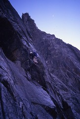 Lower Face (andywalker1) Tags: andrewwalker americandirect dru petitdru chamonix alps alpineclimbing