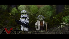 Yoda and Concept Trooper (AndrewVxtc) Tags: custom lego star wars untold clone panel master yoda trooper swca waterslide decals andrewvxtc