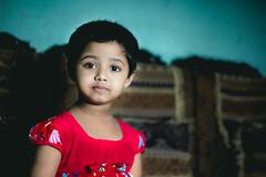 """Tahura"" (Ajwad Mohimin) Tags: child childportrit baby face portrait color canon canon60d light lightroom bangladesh bangladeshi family red ngc"