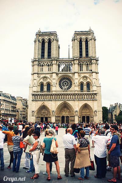 2016.10.02 ▐ 看我的歐行腿▐ 法國巴黎一日雙聖,在聖心堂與聖母院看見巴黎人的兩樣情 16