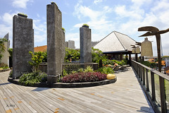 Rooftop patio (A. Wee) Tags: fourpoints spg kuta bali  indonesia  resort hotel  patio terrace rooftop