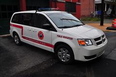Wilmington Fire Department Public Education 701 (Triborough) Tags: de delaware newcastlecounty wilmington wfd wilmingtonfiredepartment firetruck fireengine publiceducation publiceducation701 dodge caravan grandcaravan