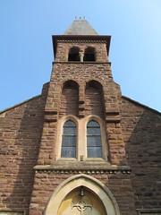Monmouth - St Mary's Catholic Church (pefkosmad) Tags: monmouth monmouthshire wales church worship placeofworship stmary catholic locked romancatholic hallowedground