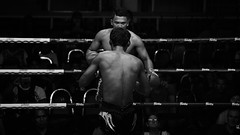 round V (polo.d) Tags: muay thai boxing noir people men fight sport black white thailand asia asian culture bet gambling boxe