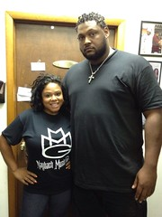 Tisha Lee and Rozay security 6'9