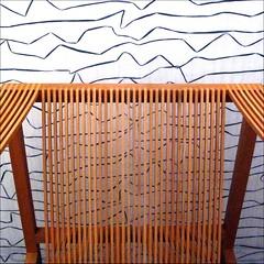 Kokke Chair (YIP2) Tags: abstract detail art amsterdam museum design chair chairs seat minimal minimalism seating simple stedelijkmuseum kokke ruudjankokke