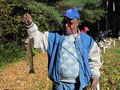 Fine brook trout (U. S. Fish and Wildlife Service - Northeast Region) Tags: ma fishing trout veteran sunderland hatchery usfishandwildlifeservice usfishandwildlife richardcroninnationalsalmonstation